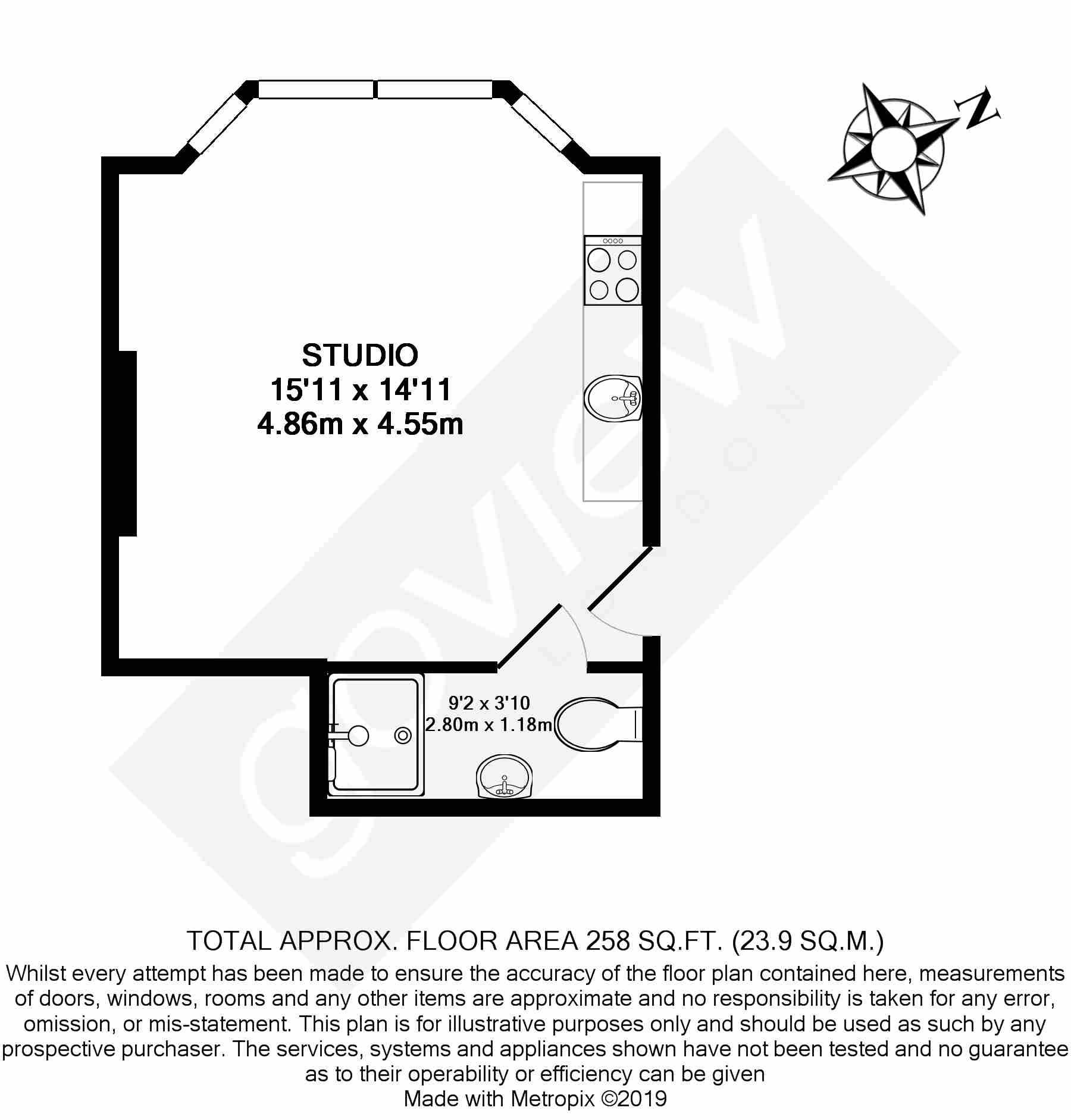 Floorplans For Fordhook Avenue, W5