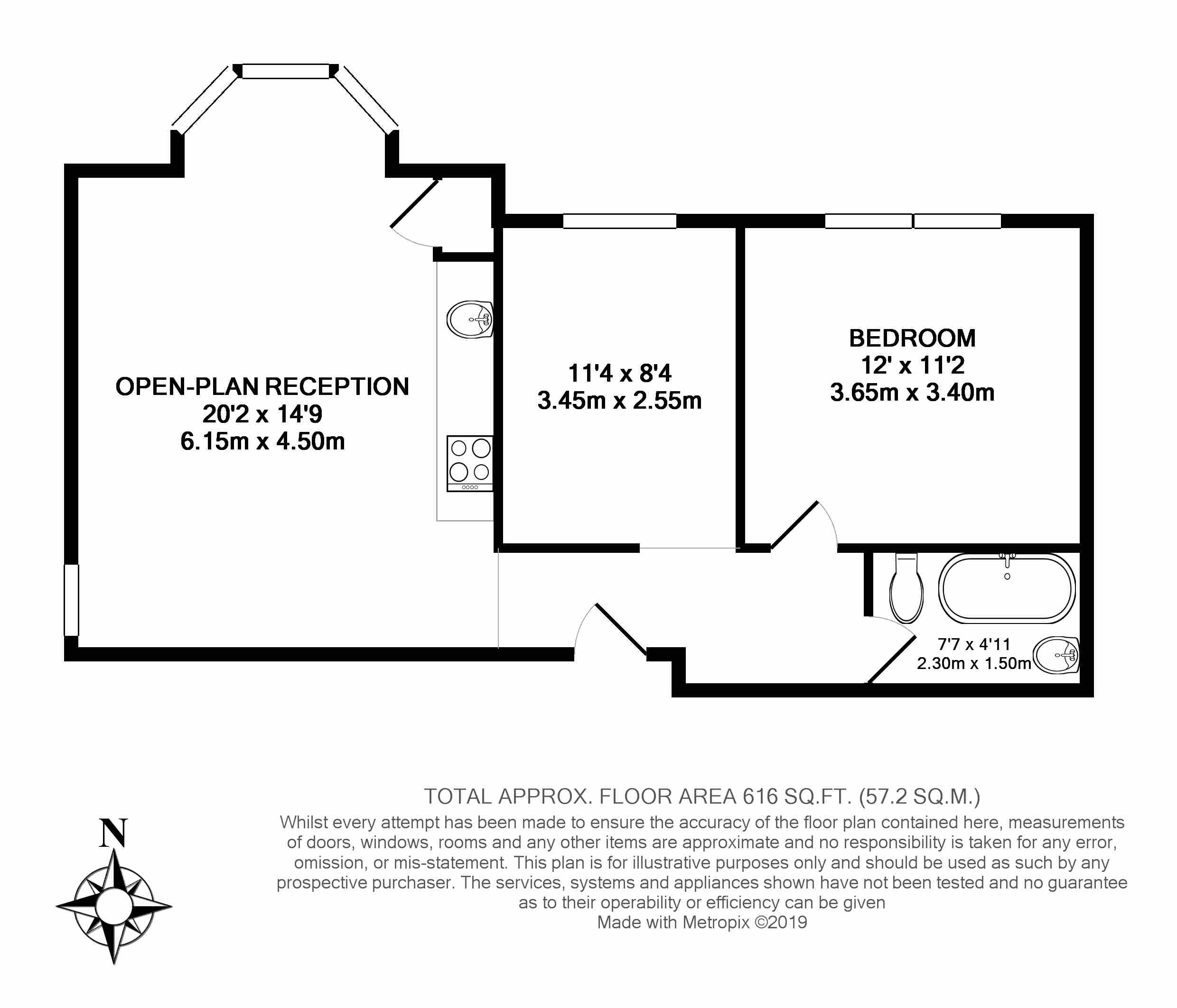 Floorplans For 'Number One Ealing', Montpelier Rd, W5'