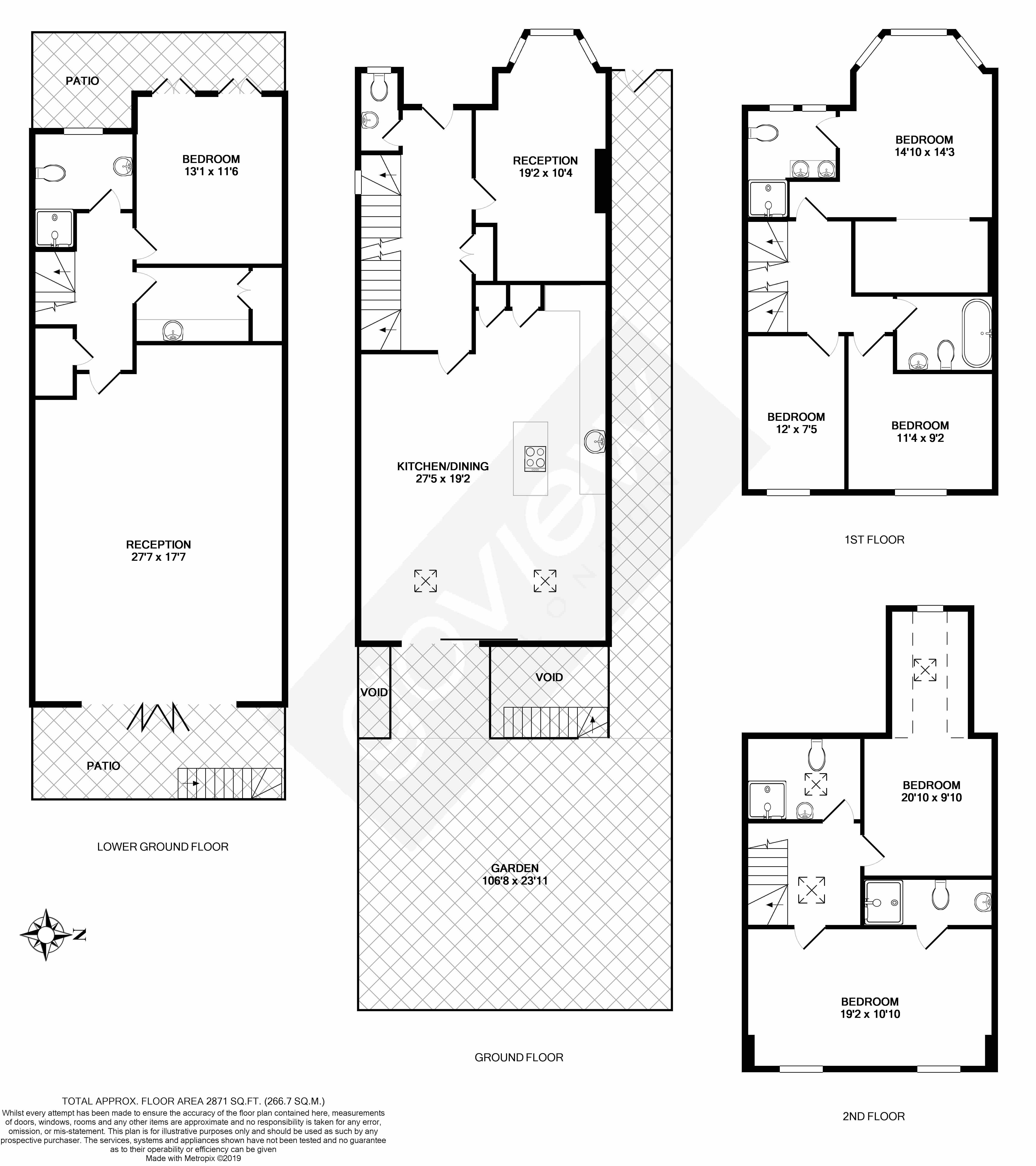 Floorplans For Ascott Ave, W5