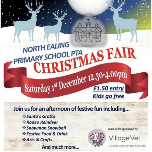 Supporting North Ealing P.T.A Christmas Fair